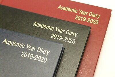 2019-2020 Academic 18 Month A5 Or A4 Hardback Diary - Week To View Or Day A Page
