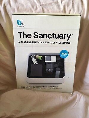 BLUE LOUNGE TS-01-BL The Sanctuary Charging Station Organizer Electronic