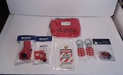 Brady Personal Breaker Lockout Pouch Kit 105966 No Padlocks