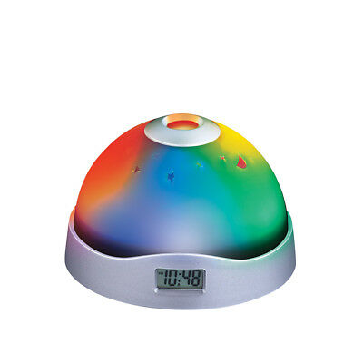 Color-changing Stars Projection Clock, by Collections Etc