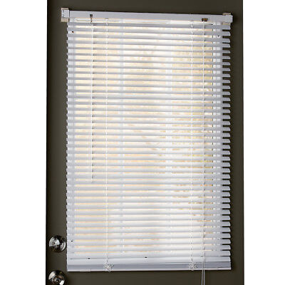 Easy Install Magnetic Window Blinds, White, by Collections Etc