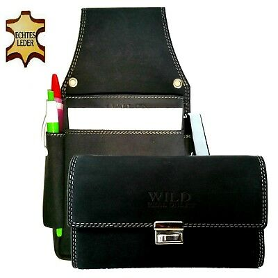Real Leather Server Set Wallet Kellnerbedienung Case Waiter Holster Wallet