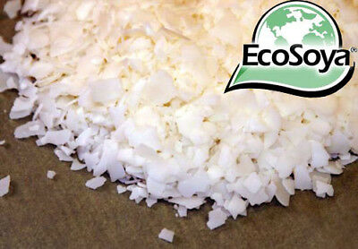 2KG - 5KG Soy Wax Eco Soya Wax Flakes For Candle Melts Tealights %100 Pure