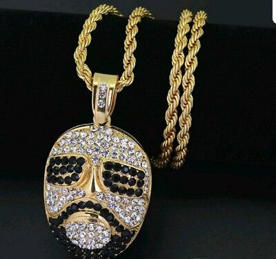 Iced out rick ross pendant chain necklace icy hip hop rapper bling iced out rick ross pendant chain necklace icy hip hop rapper bling shiny ice aloadofball Gallery