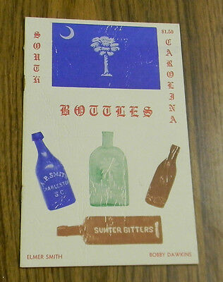 Rare SOUTH CAROLINA BOTTLES Book Dispensary+ MORE SC Bottle Collectors MUST L@@K