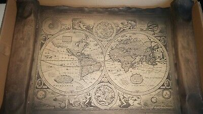 A New And Accvrat Map Of The World 1626.A New And Accvrat Map Of The World 1626 25 00 Picclick