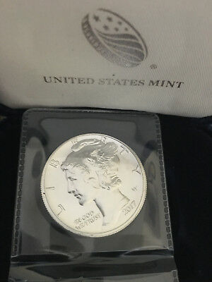 2017 $25 American Palladium Eagle In Capsule - 1 Oz .9995 Palladium