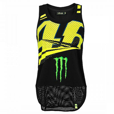 Valentino Rossi VR46 Moto GP Monster Energy Monza Women's Tank Top Official 2018