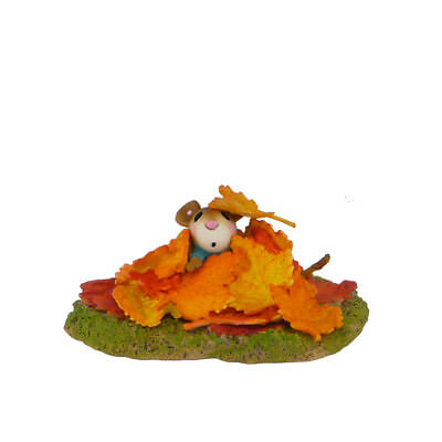 AUTUMN FROLIC by Wee Forest Folk, WFF# M-494, Fall Mouse