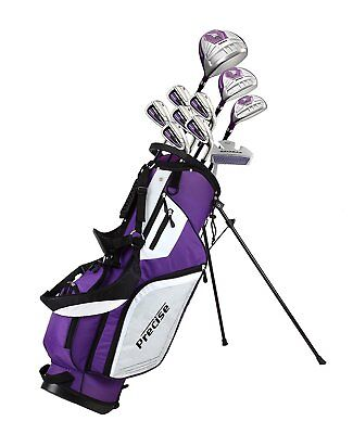 Precise M5 Ladies Womens Complete Right Handed Golf Clubs Set Includes Titanium