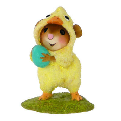 CUTE CHICK by Wee Forest Folk, WFF# M-457, Cute Easter Mouse