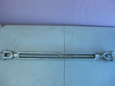 "Campbell Turnbuckle - J&J - Jaw and Jaw, 1"" x 24"", WLL 5 Tons - USA ""NEW"""