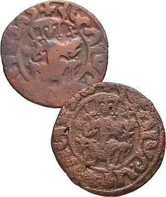 Cilician Armenia. King Hetoum I, 1226-1270 AD. Lot of 2 Tanks