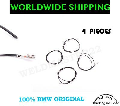 BMW Electrical Bushing Contact Wires Cables 0.2-0.5mm 4 Pieces Genuine New