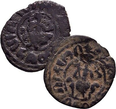 Cilician Armenia. King Hetoum I, 1226-1270 AD. Lot of 2 Kardez
