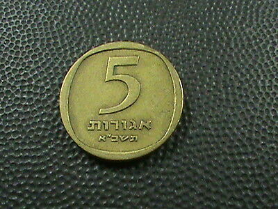 ISRAEL    5  Agorot    1961    $ 2.99  maximum  shipping  in  USA