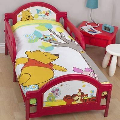 """WINNIE THE POOH , """"Forrest""""  Cot/ Toddler Doona Quilt Cover, New Express Post."""