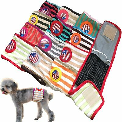PACK of Dog Diapers RANDOM Colors Male Boy BELLY BAND Wrap For Small Dogs XXS- L