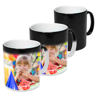 Personalised Mug Heat Colour Changing Magic Photo Mug With Your Picture