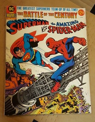Superman vs The Amazing Spider Man DC & Marvel The Battle of the Century nice!