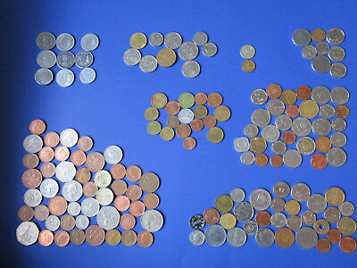 Foreign Coin Lot. 168 coins from all over the world. Estate clean out.
