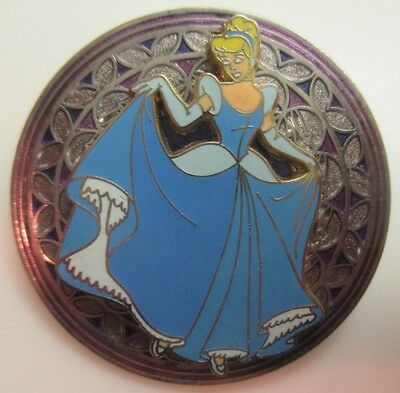 Disney Pin - Stained Glass Princess Cinderella #20372