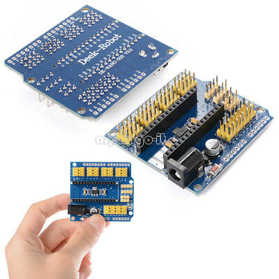 Nano I/O Expansion Sensor Shield Module for Arduino UNO R3 Nano V3.0 New