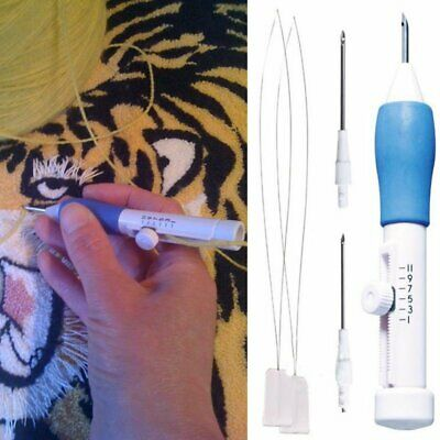 Magic Weaving DIY Sewing Embroidery Punch Needle Pen Handle Stitching Tool EU