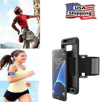 Sports Running Jogging Gym Armband Arm Band Phone Holder Strap For iPhone X 6S