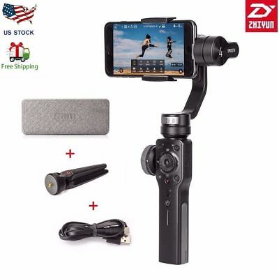Zhiyun Smooth 4 Handheld 3-Axis Smartphone Gimbal Stabilizer /Tripod/Pergear Bag