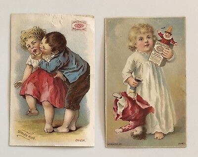 Victorian Pearline Trade Card (2)