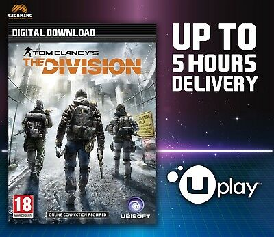 Tom Clancy's The Division [PC] (2016) UPLAY DOWNLOAD KEY 🎮🔑