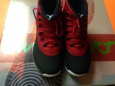 New! Nike Mens Jordan Ultra Fly 2 Shoes 897998 001 Black/White/Red Size 9.5 WOW
