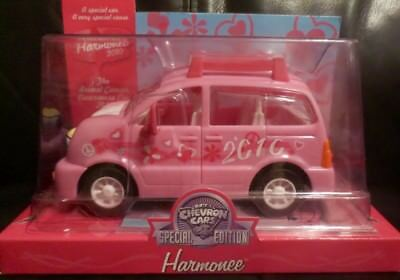 RARE!! Chevron Special Limited Edition Harmonee Car 2010 Breast Cancer Awareness