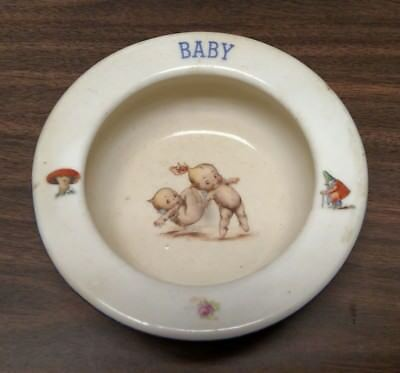 Baby Dish, Antique made in Czecho Slovakia