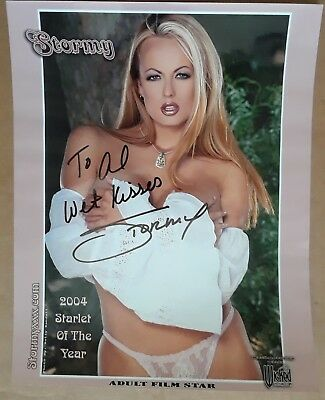 Stormy Daniels Autographed 8x10 Photo