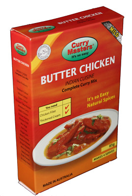 Butter Chicken 85g Curry Masters - Complete Curry Mix - Its So Easy