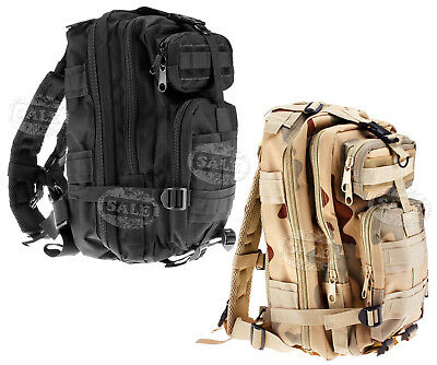 Trendy Rucksack Backpack Outdoor Military Tactical Hiking Camping 30L Black/CP