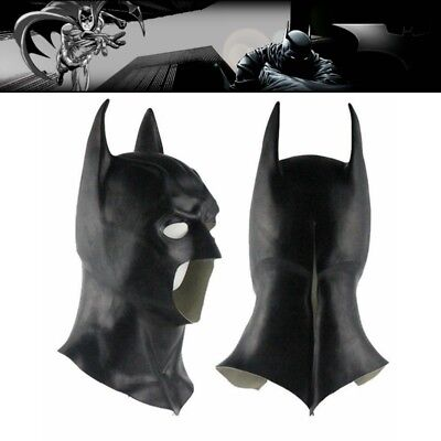 Adult Batman Black Mask Dark Knight Rises Batman Vs Superman Party Costume Mask