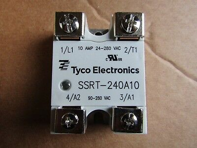 TE Connectivity 10A SPNO Solid State Relay Zero Crossing Tyco  1005CR 7150856