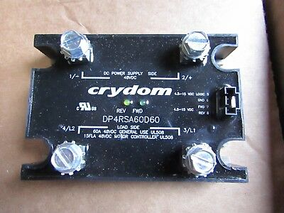 Crydom 60A Solid State Relay, DC, Panel Mount MOSFET, 48 Vdc 1005CR 7719950