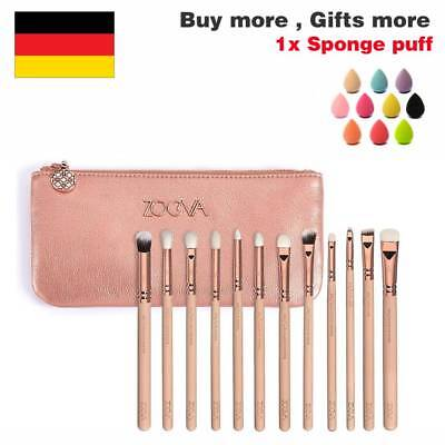 ZOEVA Rose Golden Complete Pinselset  8 12 15 Pinsel + Clutch