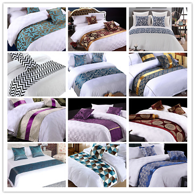 Hotel Bed/Bedding Scarf Wedding Party Dining Table Runner Home Bedroom Decor