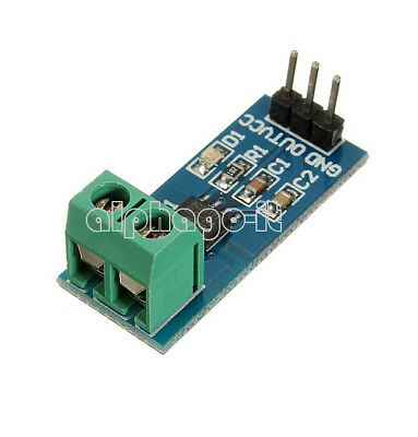NEW ACS712 20A Stromsensor Analogausgang / Current Sensor  Hall Sensor - Arduino