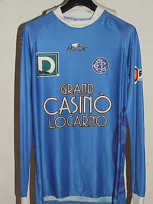 SOCCER JERSEY TRIKOT MAILLOT CAMISETA SPORT MATCH WORN LOCARNO n °29
