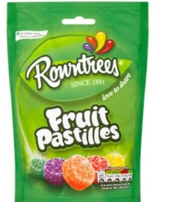 Rowntrees Fruit Pastilles 150g Classic British Sweet