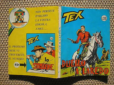 Tex # 48 Duel Laredo Edition October 1964 Without Direct Con Mg Excellent