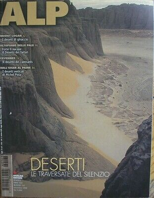 Alp Magazine 163 1998 Plateau of Paddles Mount Logan Eiger Cevennes Paine