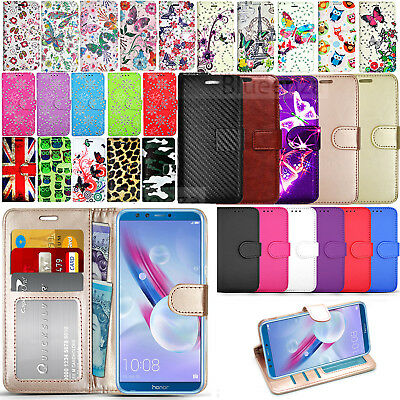 For Huawei Honor 9 Lite AL00 L31  Wallet Leather Case Flip Cover + Screen Guard