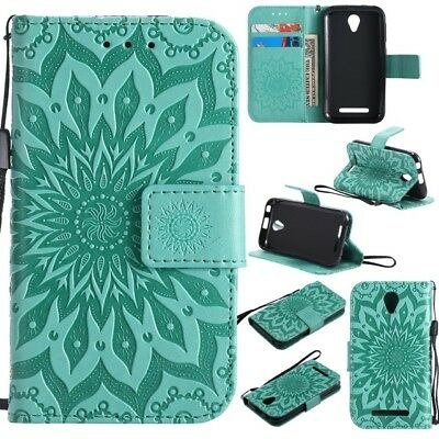 """PU Leather Wallet Phone Case Cover For Telstra 4GX Smart 